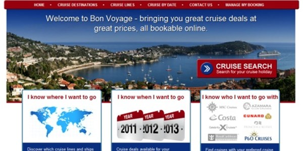 Online agency sets sail with cruise spin-off BonVoyage