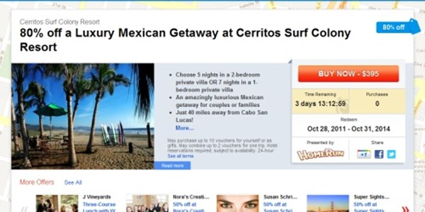 Google Offers scales up with vacations, tours and activities