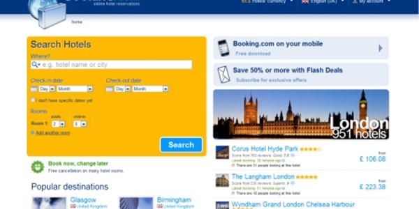 Booking Driving 50 Of European Online Hotel Reservations