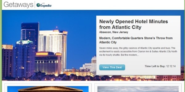 Ammo From Groupon Internal Email Getaways With Expedia And Travel Booming