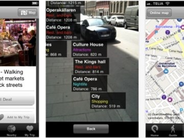 GuidePal brings city guides and augmented reality to mobiles