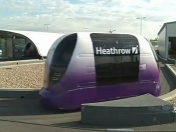 Heathrow Airport starts driverless transit service