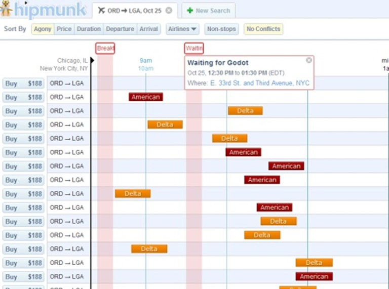 Hipmunk takes pain out of meetings and business travel schedule