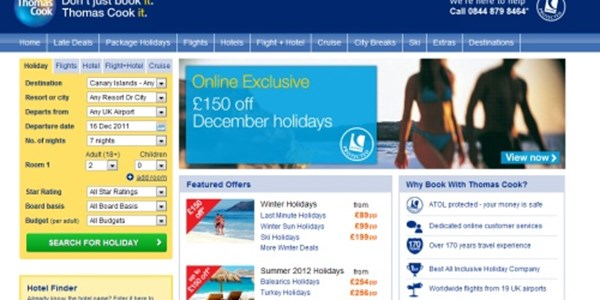 Thomas Cook axes long-running IT project as part of £428M write-off plan