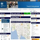 Designing the perfect travel alert and advice service for government websites