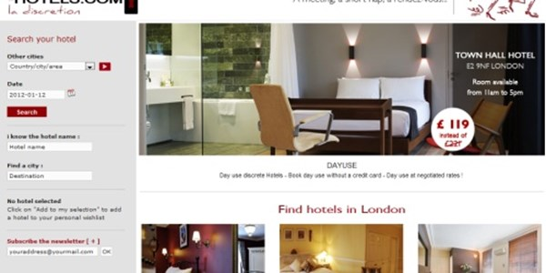 Dayuse Hotels Targets Guests Looking For A Brief Sleep Or Quick Rendez Vous