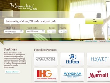 Room Key: Open to all, will lower hotel distribution costs, features and marketing to come