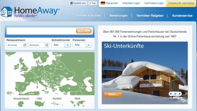 HomeAway continues platform migration with Europe next and