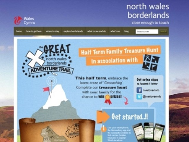 North Wales Borderlands Marries Old And New With Tourism Geocaching Promotion Phocuswire