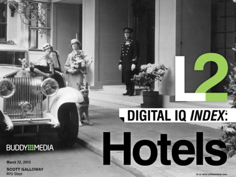 Report: Hotels' digital prowess brings higher stock price