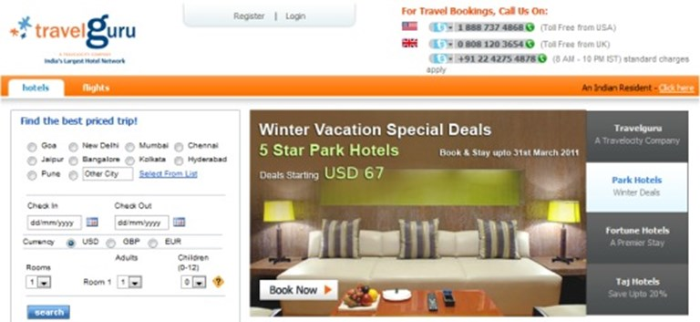 Travelocity sells Travelguru hotel site to Indian agency