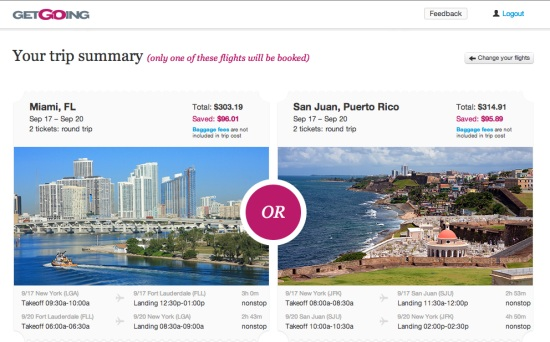 GetGoing introduces the surprise element to air ticket bookings