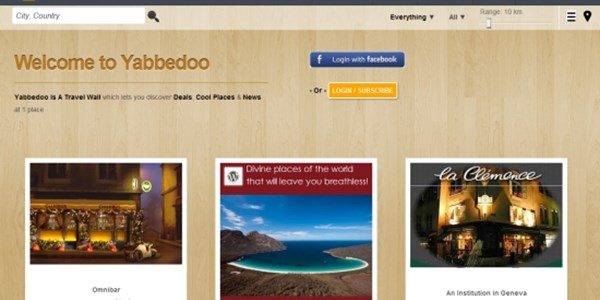 Yabbedoo seeks to disrupt with local deals and travel news service