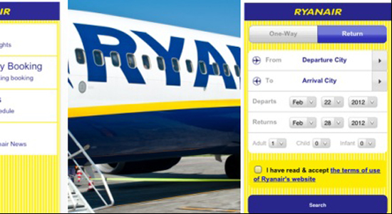 app ryanair iphone