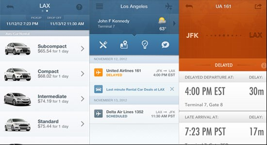 Gateguru Iphone App Adds Same Day Booking For Car Rentals And Tripit