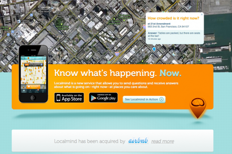 LocalMind purchase next step on Airbnb's path to local domination
