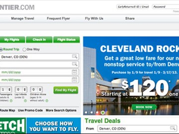 The Scan: Frontier Airlines redesigns its site, and more travel tech news