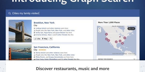 Local intent and Graph Search on Facebook - joy or not for