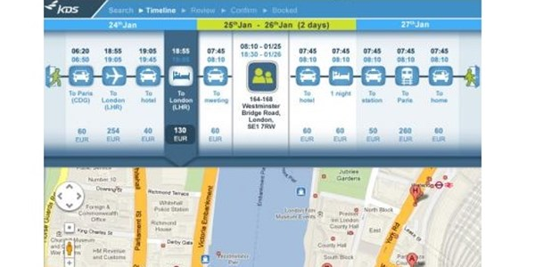 Door-to-door killer app for corporate travellers unveiled