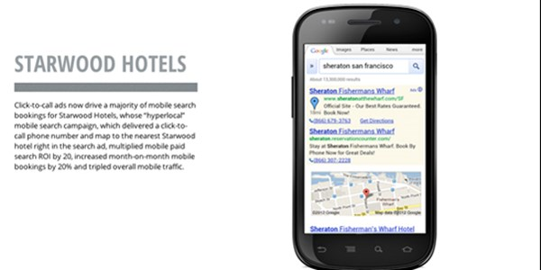 Case study: How Starwood boosted its mobile paid search ROI