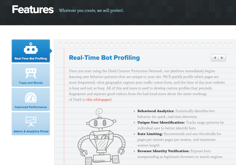 Screen scraping bots banished by latest startup targeting