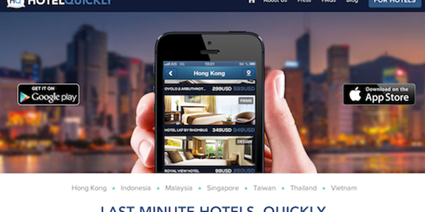 Hotelquickly Heats Up The Last Minute Hotel Booking Model In Asia