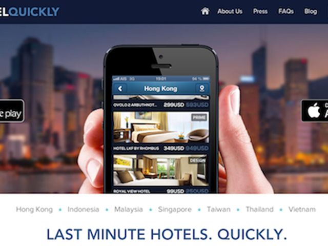 Hotelquickly Heats Up The Last Minute Hotel Booking Model In Asia Phocuswire