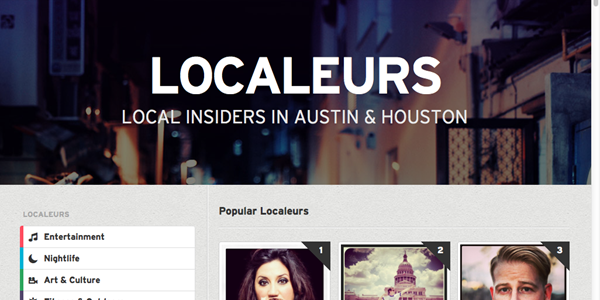Localeur adds a twist to local expert tips with a focus on actual locals