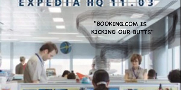 Booking.com is thrashing Expedia in Europe, says survey