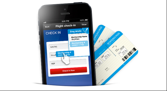 WorldMate brings a UX twist to its mobile flight check-in feature