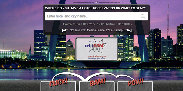 TripBAM promises cash savings on hotels with minimal effort