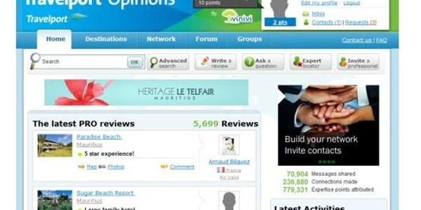 Travelport says goodbye to Opinions travel review system for agents