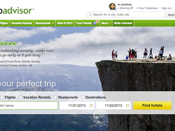 TripAdvisor says no plans to become an OTA, happy to remain booking facilitator