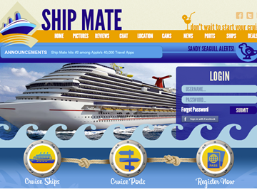 Cruiseline.com gets into mobile with purchase of ShipMate Cruise App