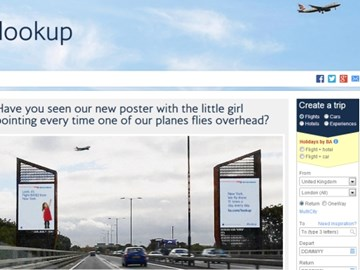 British Airways takes child's perspective for latest digital campaign