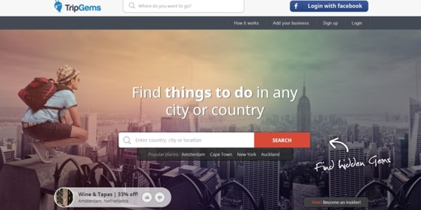 Startup pitch: TripGems throws deals and tip sharing into travel planning mix