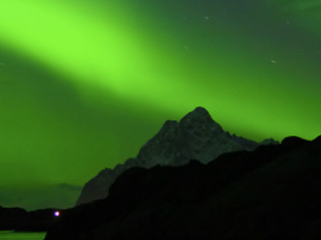 Mobile app predicts the possibility of seeing the Northern Lights