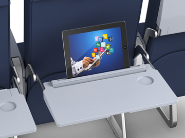 Seatback digital billboards: Airline trays are about to get a tech-heavy makeover