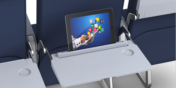 Enjoyable Seatback Digital Billboards Airline Trays Are About To Get Pdpeps Interior Chair Design Pdpepsorg