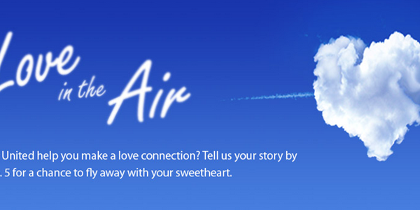 United aggressively markets Valentine's Day across social platforms