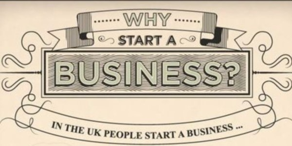 Why people (really) go into business for themselves [INFOGRAPHIC]