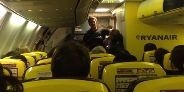 The curious case of Ryanair, the police, an airport, YouTube and bad weather