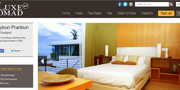 Hotel flash sales site TheLuxeNomad pivots to booking service