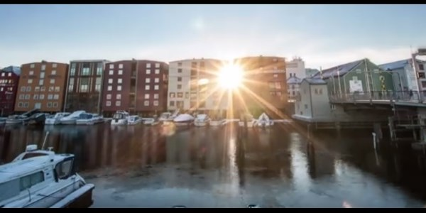 Trondheim shows how 2014 could be year of the destination drone cam [VIDEO]