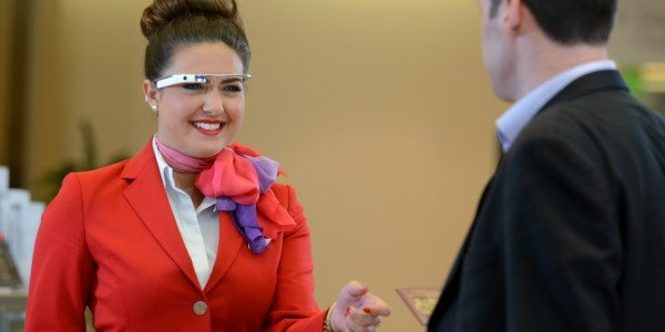 Virgin Atlantic gets up close and personal with Google Glass