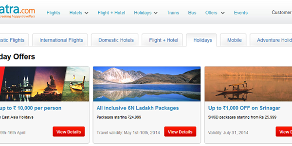 Indian OTA Yatra raises $23 million, increases focus on hotels and packages