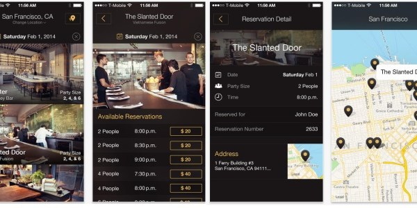 Concur leads $4.6 million investment in last-minute restaurant booker Table8