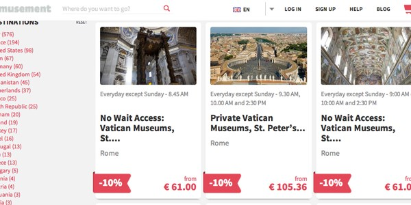 Startup pitch: Well funded Musement helps travelers skip queues at top sights