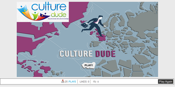 CultureDude aims to address the cultural knowledge gap via online games