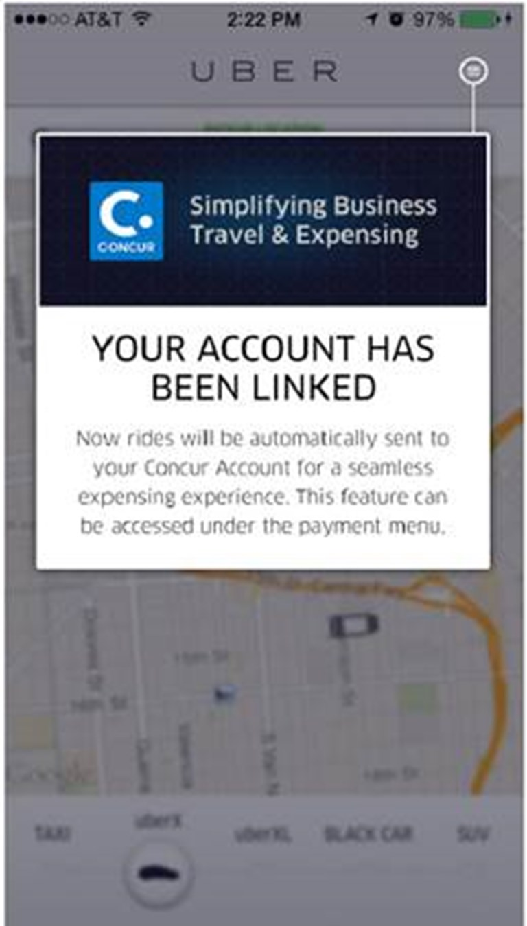 Concur adds loyalty points, deepens integrations with Uber linkup